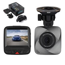 isYoung Car Dash Cam, 720P HD Dashboard Camera Recorder with