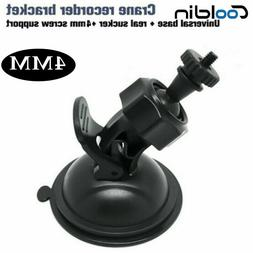 4MM Screw Car Suction Cup Mount Holder Sucker Black For Car