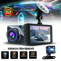 For Car Vehicle Dash Camera 1080p HD Front Dashboard Securit
