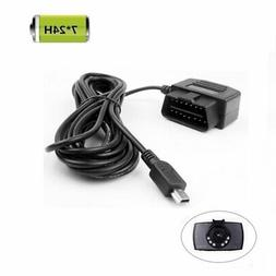 REARMASTER Universal OBD Power Cable for Dash Camera24 Hours