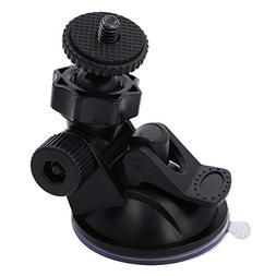 "iSaddle CH01A 1/4""-20 Thread Camera Suction Mount Tripod Hol"
