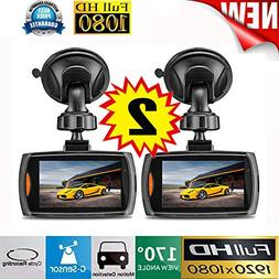 """Christmas Best Gift for Car!!Kacowpper 2X Car 1080P 2.4"""" Ful"""