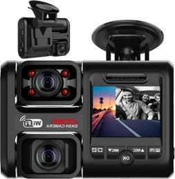 D30H Dash Cam With Infrared Night Vision And Wifi Dual 1080P