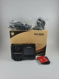 Pruveeo D30H Dash Cam with Infrared Night Vision and WiFi Du