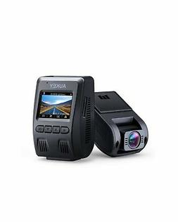 AUKEY 1080p Dash Cam with 170° Wide-Angle Lens, Dashboard C
