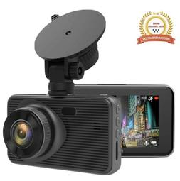 Dash Cam 1080p, 3.0 Inches LCD Cameras