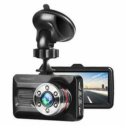 TOGUARD Dash Cam 1080P Full HD Car Camera DVR Dashboard Came