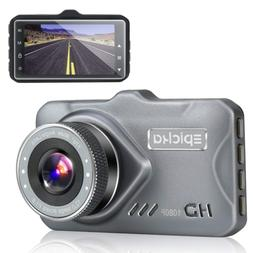 Dash Cam - EPICKA 1080P Full HD Car DVR Dashboard Camera, Dr