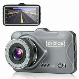 Dash Cam - EPICKA 1080P Full HD Car DVR Dashboard Camera Dri