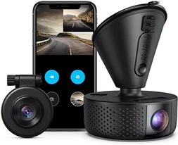 Dash Cam,VAVA 1920x1080P 60fps Wi-Fi Car Camera with GPS, 36