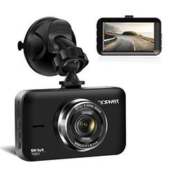 """TryAce Dash Cam, 3"""" LCD FHD 1080P Wide Angle Dashboard Camer"""