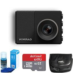 Garmin Dash Cam 45 Bundle with 32GB microSDHC Memory Card, U
