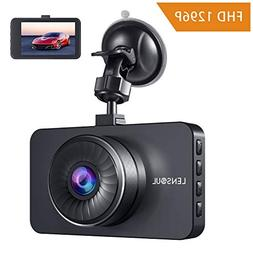 Lensoul Dash Cam, Dashboard Camera Recorder with Full HD 129