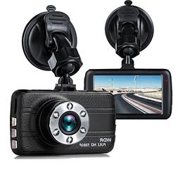 "Dash Cam,EVASA 3.0"" 1080P 170° Wide Angle Metal Shell Car O"