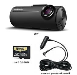 Thinkware F100 Pro 1080p HD Dash Cam with 32GB SD Card