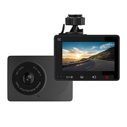YI Dash Cam, 2.7 Inch Screen 1080P30 130° Wide Angle In Car