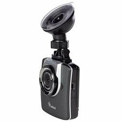 Ivation Dash Cam HD 1296p Video, GPS & Audio Recorder, Wide