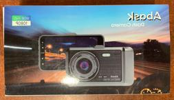 Dash Cam, Abask Dash Camera for Cars with Night Vision and P