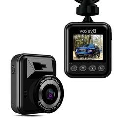 Dash cam, Byakov Dash Camera for Cars S604 FullHD 1080p 1.5i