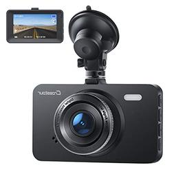 Dash Cam, Crosstour 1080P Car DVR Dashboard Camera Full HD w
