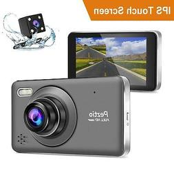 dash cam front and rear full hd