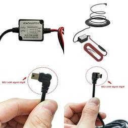 Dash Cam Hardwire Kit With Right Angle Mini Usb Pefect For C