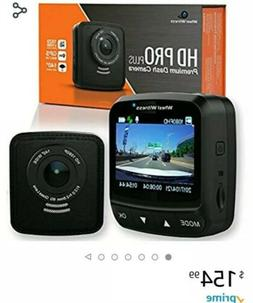 Dash Cam HD PRO Plus - w/WiFi - Premium Camera for Cars - Wi