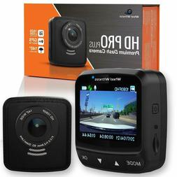 WheelWitness Dash Cam HD PRO Plus - w/WiFi - Premium Dash Ca