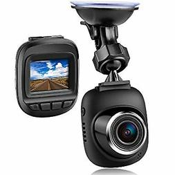 Dash Cam by Fliiners Mini LCD Car Dvr Camera Recorder with F
