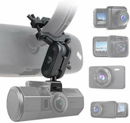Dash Cam Mirror Mount, Fit For 99% Dash Cam/Dvr, For Yi 2.7""