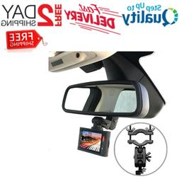 Dash Cam Mirror Mount Kit For 95% Dash Cam And GPS Real 360
