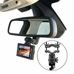 Pruveeo Dash Cam Mount for 99% Dash Cam and GPS Car Rearview
