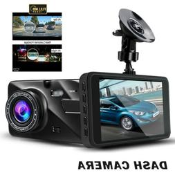 Dash Cam Night Vision 4 inch Drive Recorder Night Mode Loop