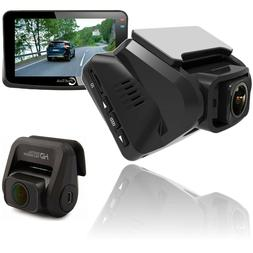 "Dash Cam Recorder 3"" for Cars WiFi Dual Lens Full HD 1080P"