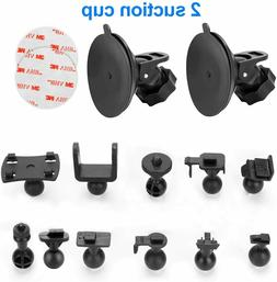 Dash Cam Suction Cup Mount - for AUKEY, Crosstour, TOGUARD,