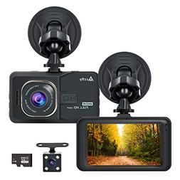"""Accfly Dash Cam 1080P 170° Wide Angle Lens 3.0"""" LCD Screen"""