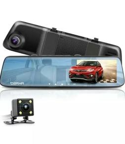 "Dash Cam with Backup Camera TOGUARD 5"" FHD 1080P Touchscreen"