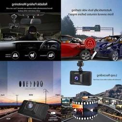 Dash Camera For Cars FHD 1080P Front Cam W Night Vision 2 Mo
