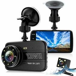 Dash Cams for Cars Front and Rear with Night Vision Car Came