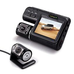 Dash Camera Front and Rear Cam, Driving Video Recorder 1080P