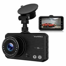 Campark DC10 Pro 4K Ultra HD Dash Cam Wifi GPS Dashboard Cam
