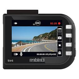 "Uniden DC4, 1080p Full HD Dash Cam, 2.4"" LCD, G-sensor with"