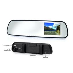 Coby DCHDM-301-V2 Rear View Mirror 1080P Dash Cam and DVR