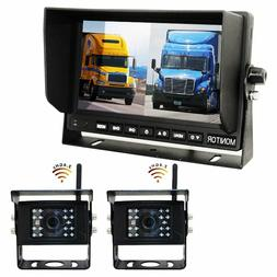 Digital Wireless DVR Dash Cam System! 2 Camera Options with