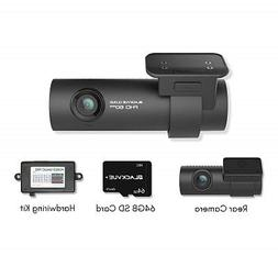 Blackvue DR750S-2CH Dash Cam 64GB Memory Card and hardwire k