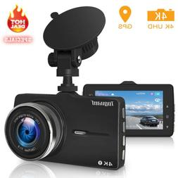TOGUARD Dual 1920x1080P Dash Cam Front and Rear 330° Car Ca