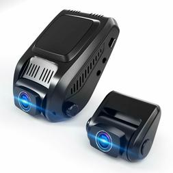 Dual Dash Cam, Tryace 1080P FHD Front and Rear Dual Lens Car
