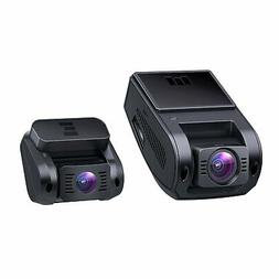 AUKEY Dual Dash Cam, 1080P HD Front and Rear Camera, 6-Lane