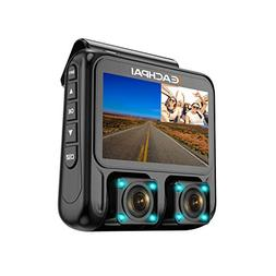 Dual Dash Cam 3.0'' LCD Full HD1920x1080P Front and Rear