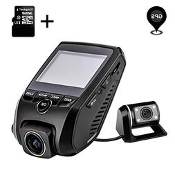 ZXS Dual Dash Cam, 1080P HD Front and Rear Camera, 6-Lane 17